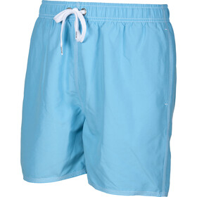 arena Fundamentals Solid Costume a pantaloncino Uomo, sea blue-white